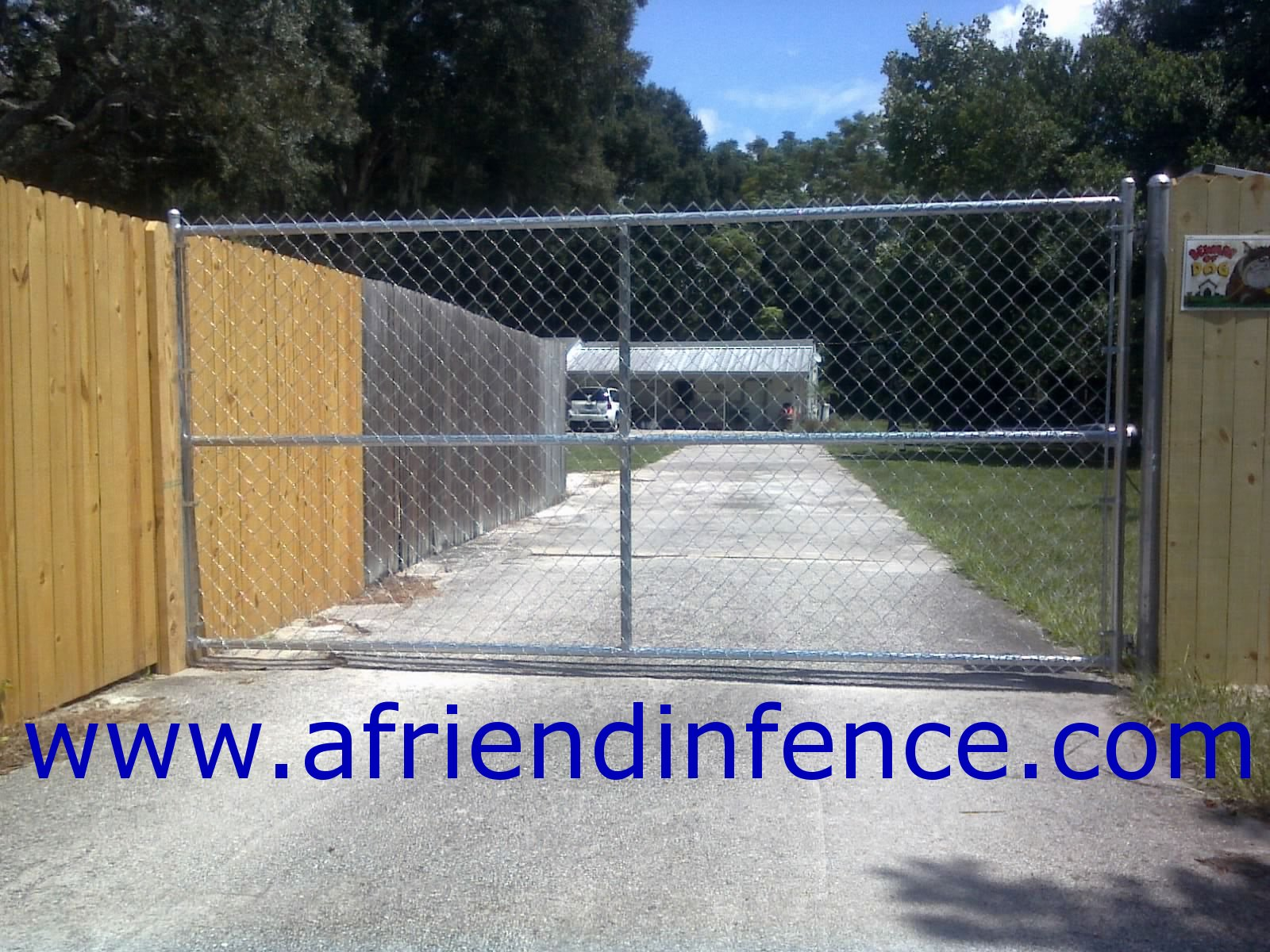Fence Gates How To Build A Chain Link Gate